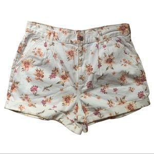 NWOT! American Eagle Outfitters Floral Mom Shorts
